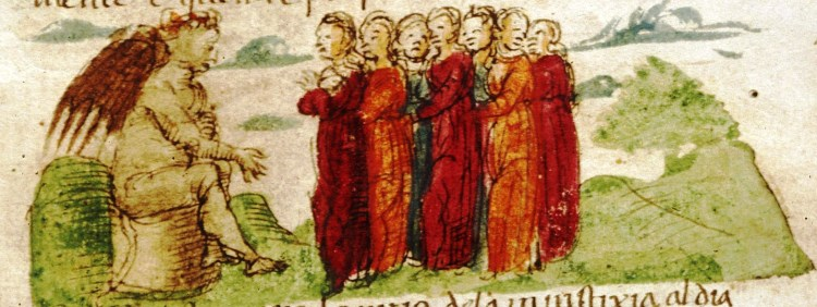 Medieval-Hell-men-conversing-with-devil
